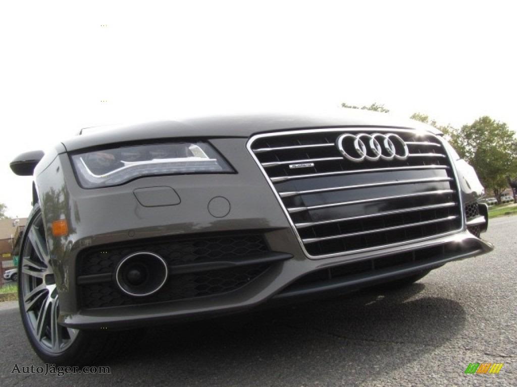2012 A7 3.0T quattro Prestige - Dakota Grey Metallic / Black photo #1