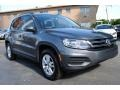 Volkswagen Tiguan S Pepper Gray Metallic photo #2