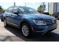 Volkswagen Tiguan SE Silk Blue Metallic photo #2