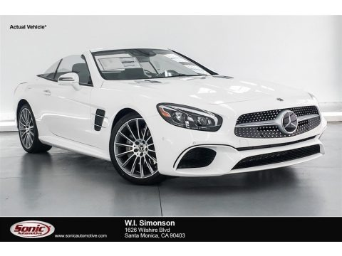 Polar White 2019 Mercedes-Benz SL 550 Roadster