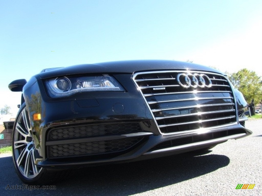 2012 A7 3.0T quattro Prestige - Havanna Black Metallic / Nougat Brown photo #1