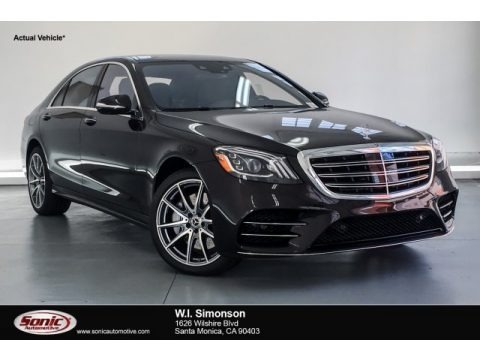 Ruby Black Metallic 2019 Mercedes-Benz S 560 Sedan