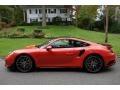 Porsche 911 Turbo S Coupe Lava Orange photo #7