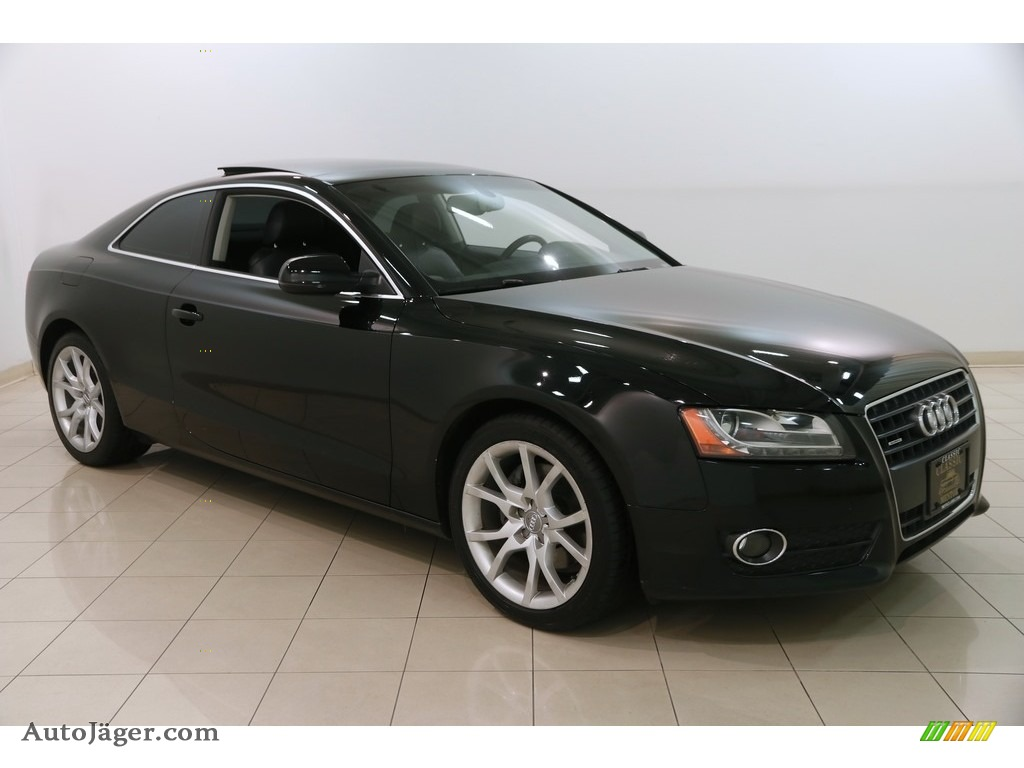 2012 A5 2.0T quattro Coupe - Brilliant Black / Black photo #1