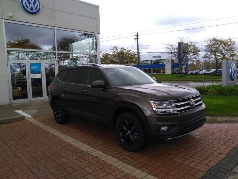 Terra Brown Metallic 2019 Volkswagen Atlas SE 4Motion