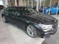 BMW 7 Series 750i xDrive Sedan Black Sapphire Metallic photo #1