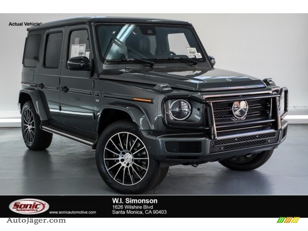 2019 G 550 - designo Graphite Metallic / Black photo #1