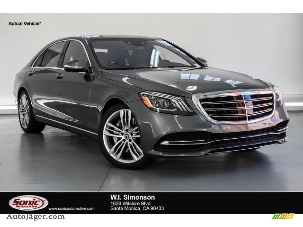 2019 S 560 Sedan - Selenite Grey Metallic / Black photo #1