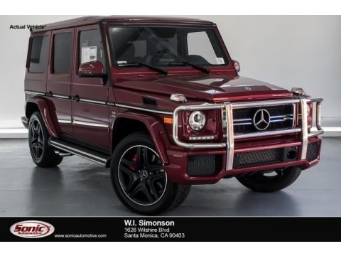 Storm Red Metallic 2018 Mercedes-Benz G 63 AMG