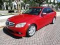 Mercedes-Benz C 300 Luxury Mars Red photo #1