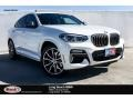 BMW X4 M40i Alpine White photo #1
