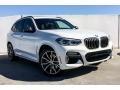 BMW X3 M40i Alpine White photo #12