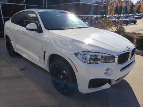 Alpine White 2019 BMW X6 xDrive35i