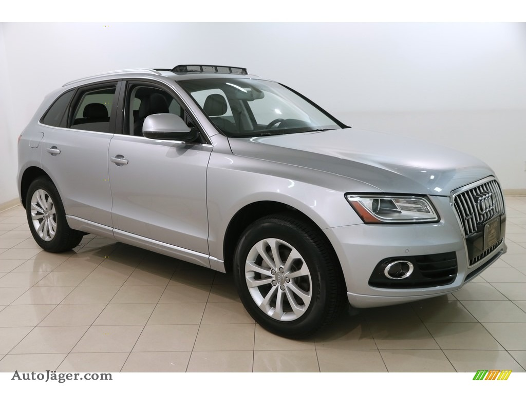 2015 Q5 2.0 TFSI Premium Plus quattro - Florett Silver Metallic / Black photo #1