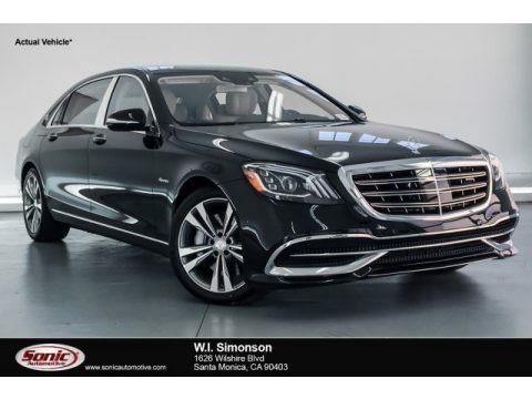 Black 2018 Mercedes-Benz S Maybach S 560 4Matic