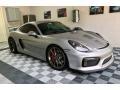 Porsche Cayman GT4 GT Silver Metallic photo #1
