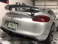 Porsche Cayman GT4 GT Silver Metallic photo #9
