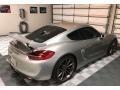 Porsche Cayman GT4 GT Silver Metallic photo #11