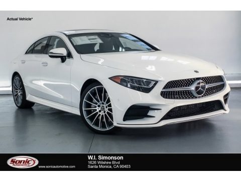 Polar White 2019 Mercedes-Benz CLS 450 Coupe