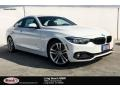 BMW 4 Series 430i Coupe Alpine White photo #1