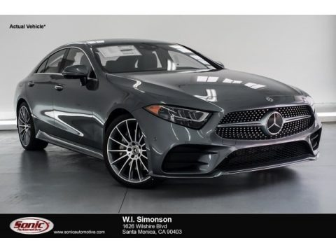 Selenite Grey Metallic 2019 Mercedes-Benz CLS 450 Coupe