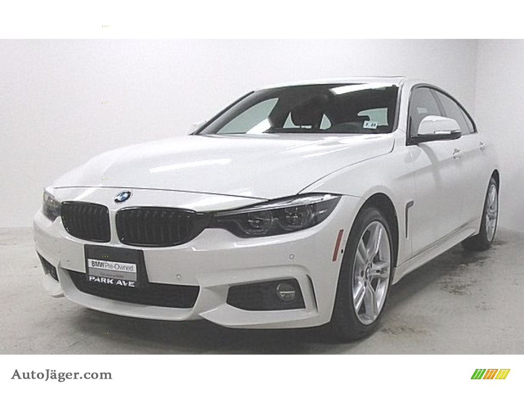 Alpine White / Coral Red BMW 4 Series 440i xDrive Gran Coupe