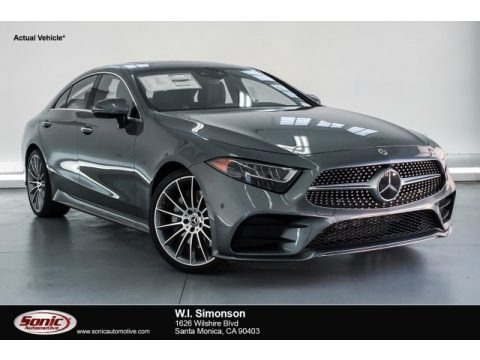 Selenite Grey Metallic 2019 Mercedes-Benz CLS 450 Coupe