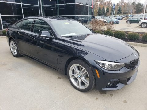 Carbon Black Metallic 2019 BMW 4 Series 430i xDrive Gran Coupe