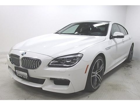 Alpine White 2019 BMW 6 Series 650i xDrive Gran Coupe