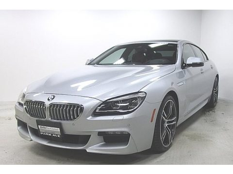 Glacier Silver Metallic 2019 BMW 6 Series 650i xDrive Gran Coupe