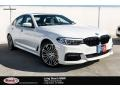 BMW 5 Series 530e iPerformance Sedan Alpine White photo #1
