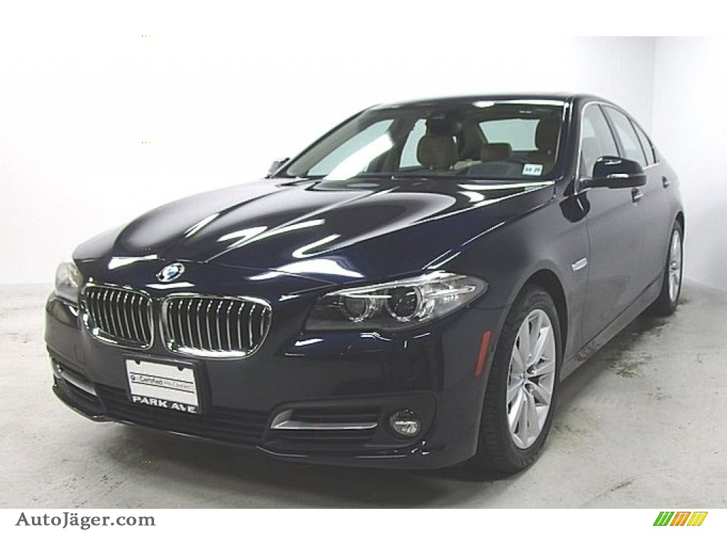 2016 5 Series 535i xDrive Sedan - Imperial Blue Metallic / Venetian Beige/Black photo #1
