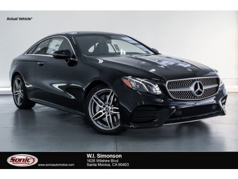 Black 2019 Mercedes-Benz E 450 Coupe