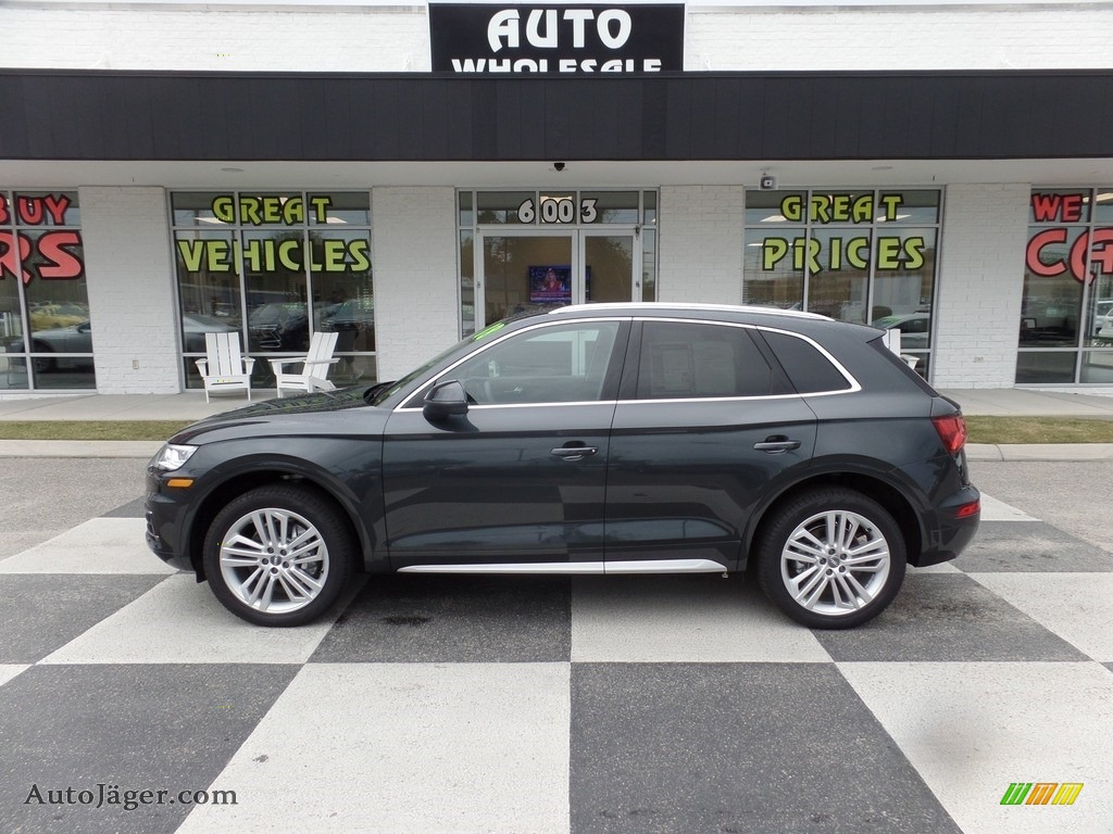 2018 Q5 2.0 TFSI Premium Plus quattro - Manhattan Gray Metallic / Black photo #1
