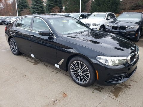 Black Sapphire Metallic 2019 BMW 5 Series 530i xDrive Sedan