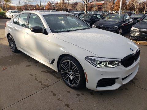 Alpine White 2019 BMW 5 Series 540i xDrive Sedan