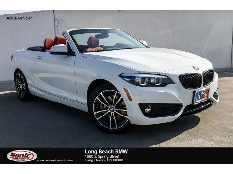 Alpine White 2019 BMW 2 Series 230i Convertible