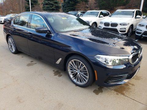 Imperial Blue Metallic 2019 BMW 5 Series 530i xDrive Sedan