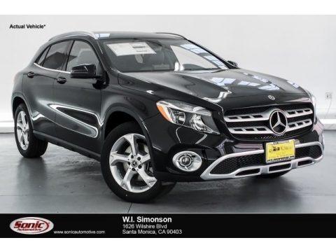 Night Black 2019 Mercedes-Benz GLA 250