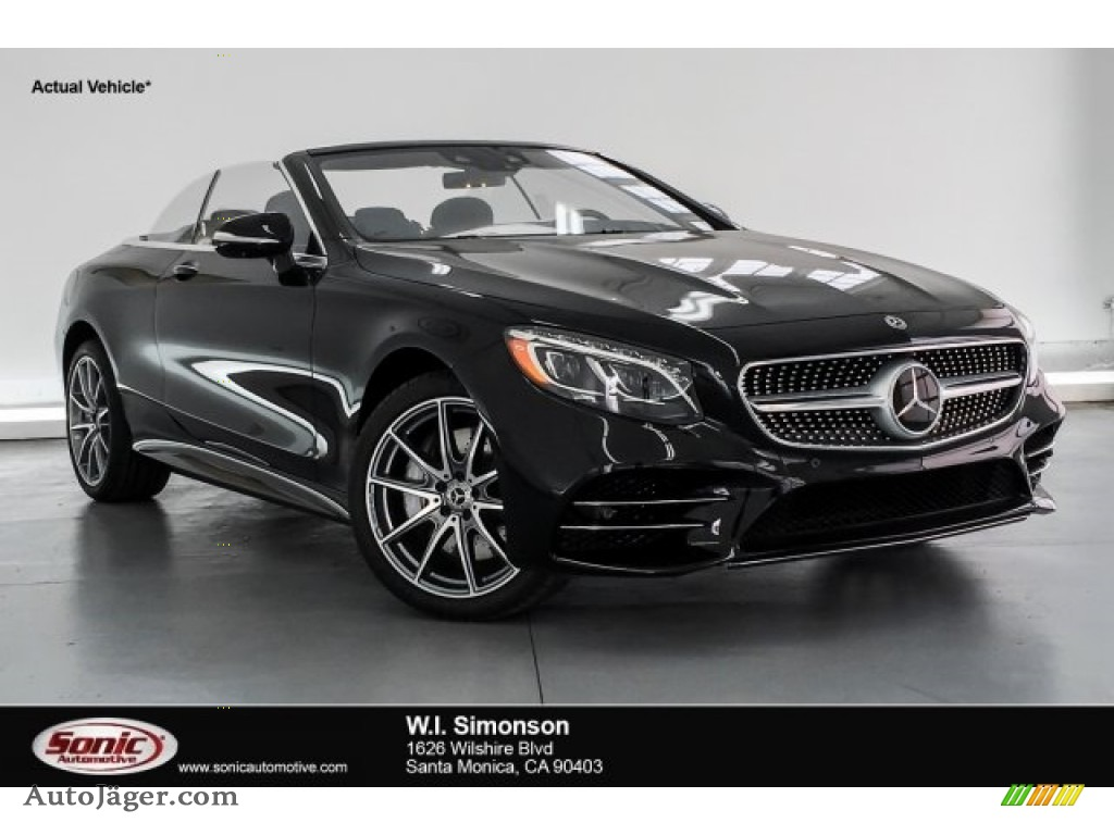 2019 S S 560 Cabriolet - Black / designo Black photo #1