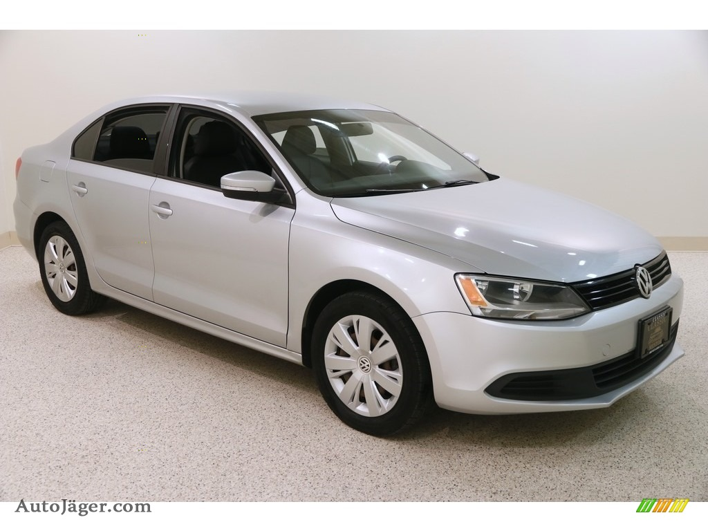 2011 Jetta SE Sedan - Reflex Silver Metallic / Titan Black photo #1