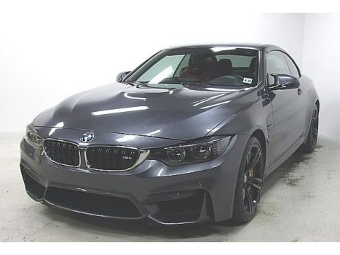 Mineral Grey Metallic 2015 BMW M4 Convertible