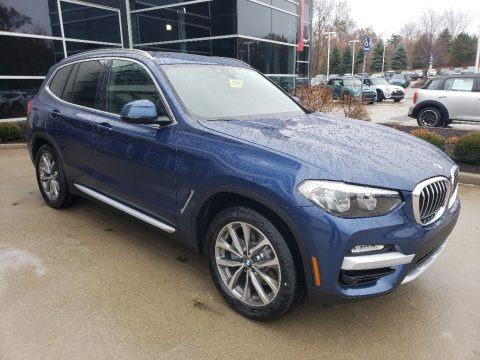Phytonic Blue Metallic 2019 BMW X3 xDrive30i