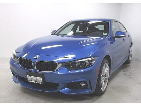 Estoril Blue Metallic 2018 BMW 4 Series 430i xDrive Gran Coupe