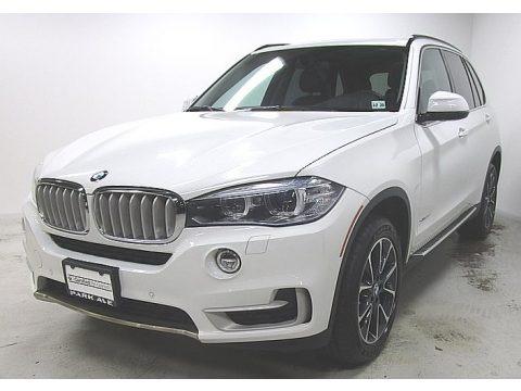 Alpine White 2015 BMW X5 xDrive35d