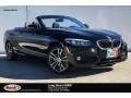 BMW 2 Series 230i Convertible Jet Black photo #1