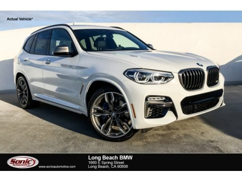Alpine White 2019 BMW X3 M40i