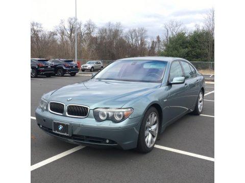 Slate Green Metallic 2004 BMW 7 Series 745i Sedan