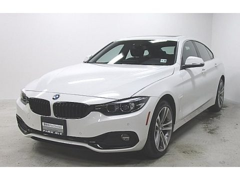 Alpine White 2019 BMW 4 Series 430i xDrive Gran Coupe