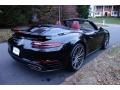 Porsche 911 Turbo Cabriolet Black photo #4
